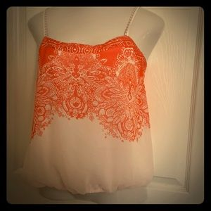 Anthropologie One September tank top blouse L